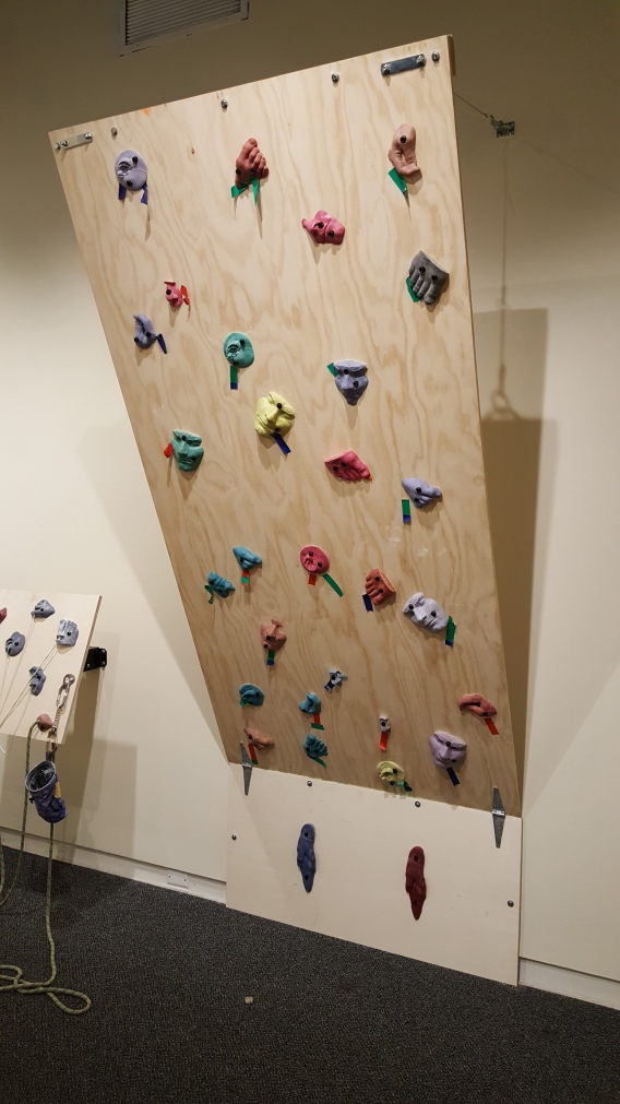 """Climbing Wall"""
